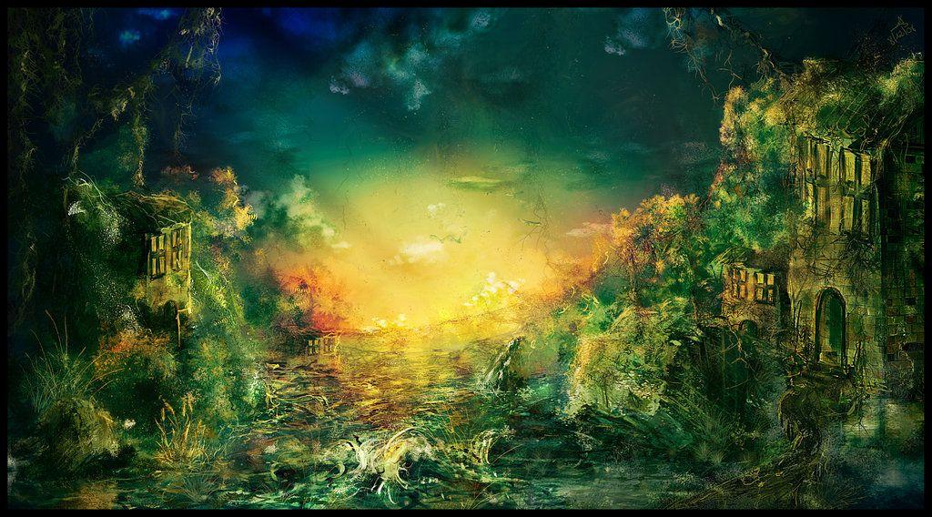 Speed painting - digital painting