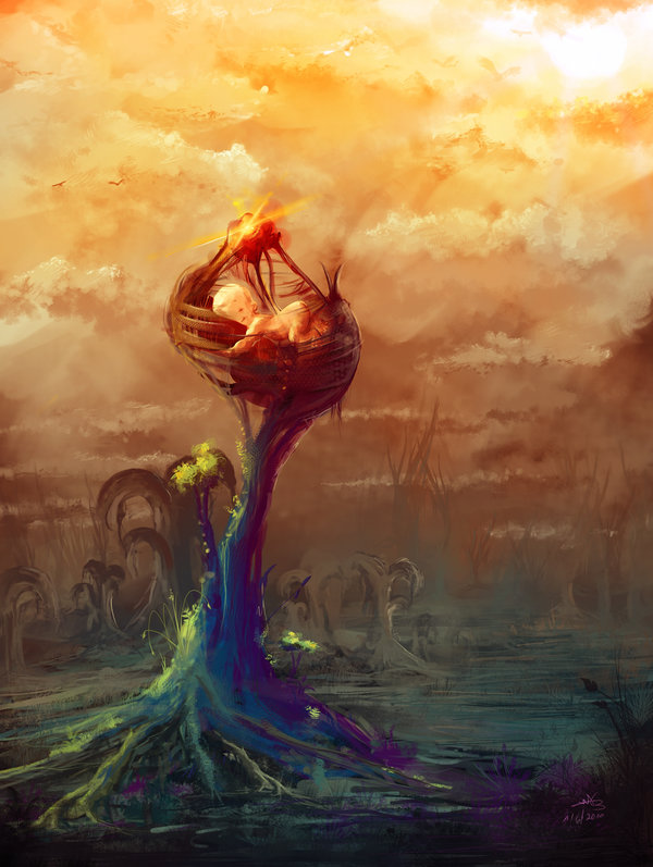 wild_pregnancy_amit-sadik-digital-painting