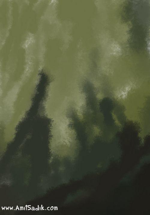 Speed Painting Process