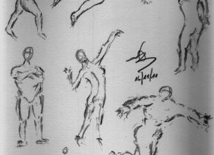 Gesture drawing #4
