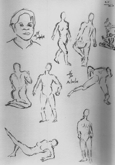 Gesture Drawing (1)
