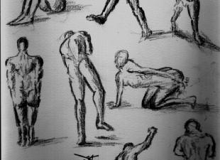 Gesture drawing #5