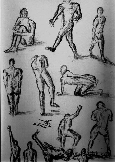 Gesture drawings
