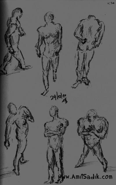 Gesture Drawing (7)