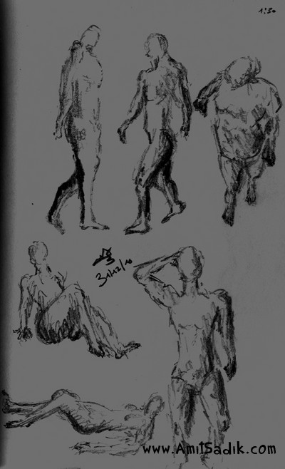Gesture Drawing (6)