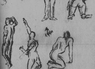 Gesture drawing #1