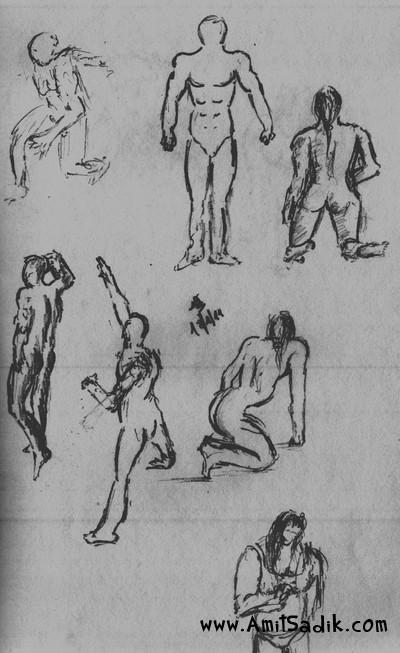 Gesture Drawing (3)