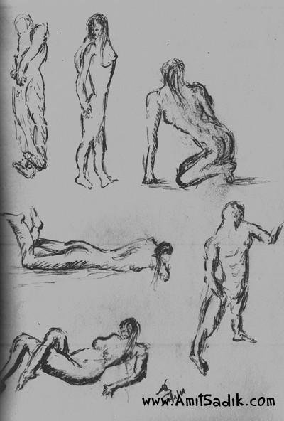 Gesture Drawing (2)