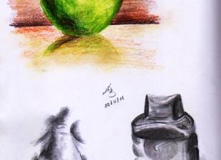Still life sketches