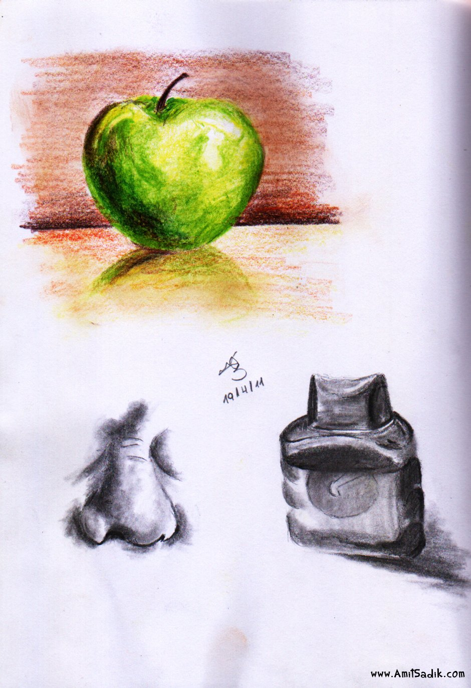 Pencil drawings - Still life