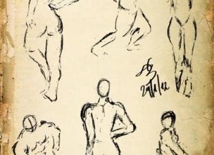 Gesture drawing #6