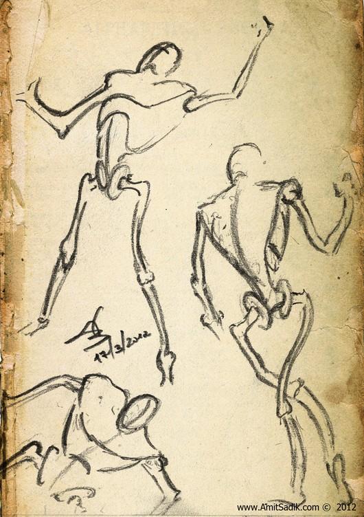 Gesture Drawing - Figure drawing