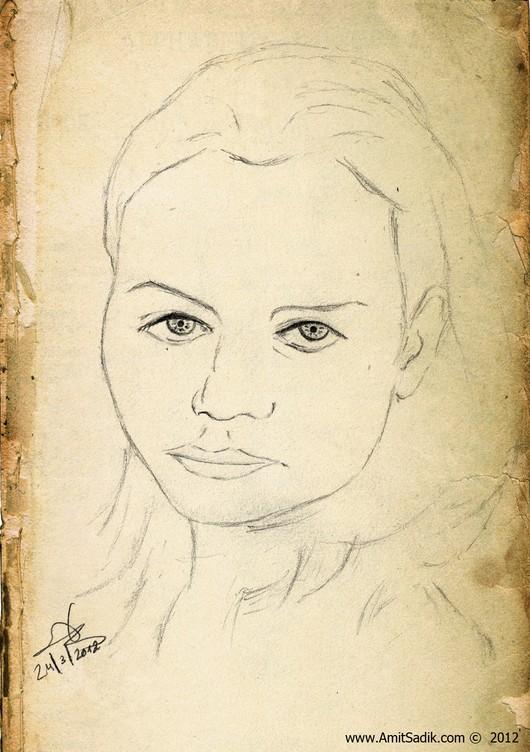 Pencil drawings - portraits