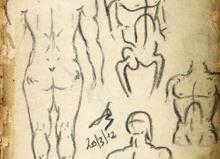 Gesture drawing #12