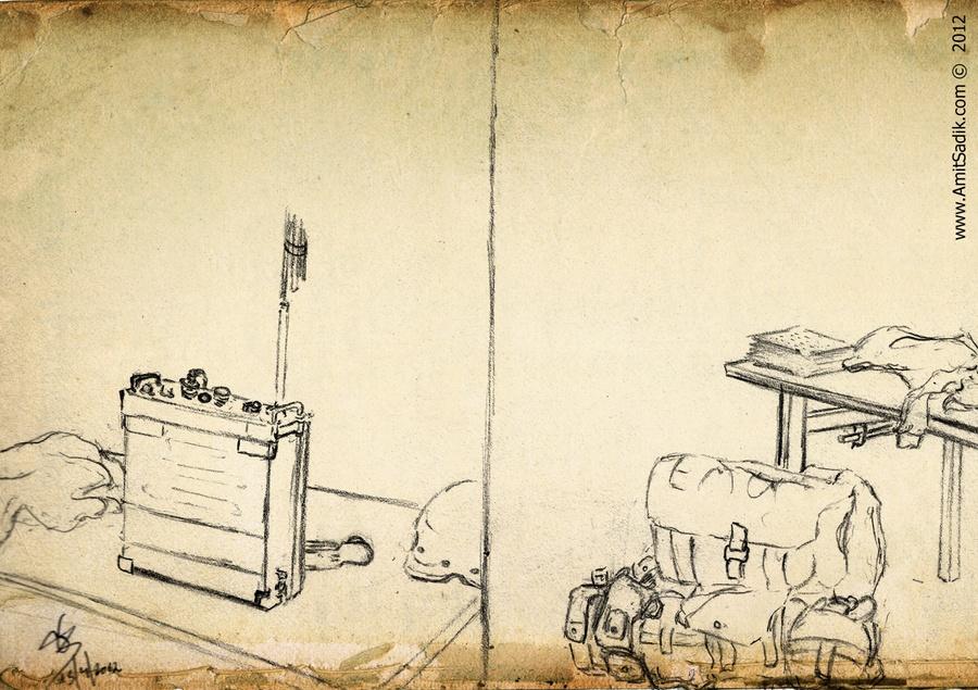 Army drawings