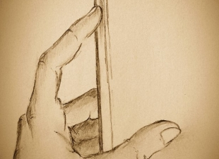 My hand sketch