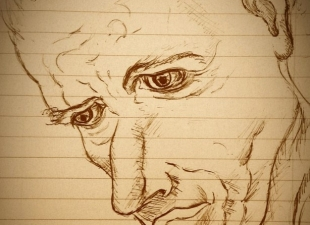 Old man portrait – Behind blue eyes