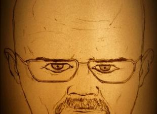 John's the scientist – Portrait