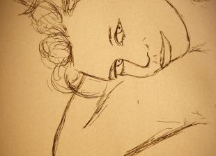 Babe – Woman drawing