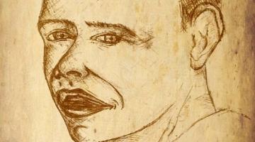 Face drawing – Obama?