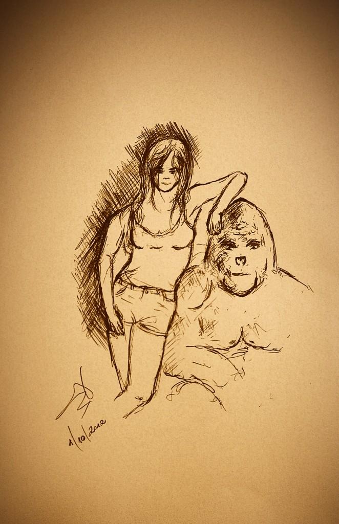 female figure drawing