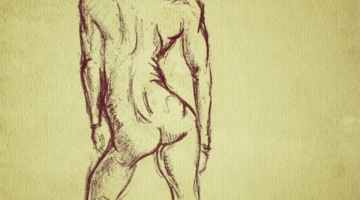 Female gesture drawing