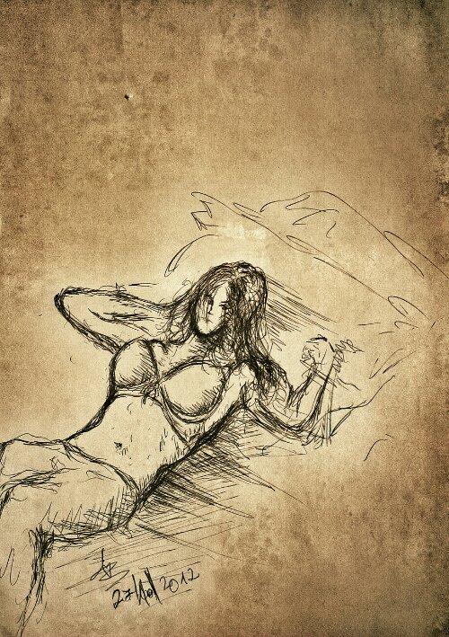 female-pose-drawing