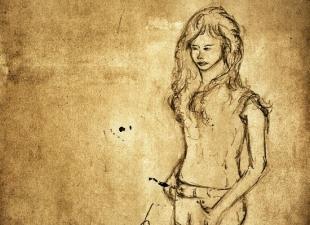 Woman sketch