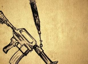 Gun drawing