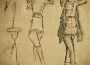 Woman sketch #2