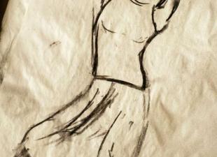 Pose drawing – Dancing