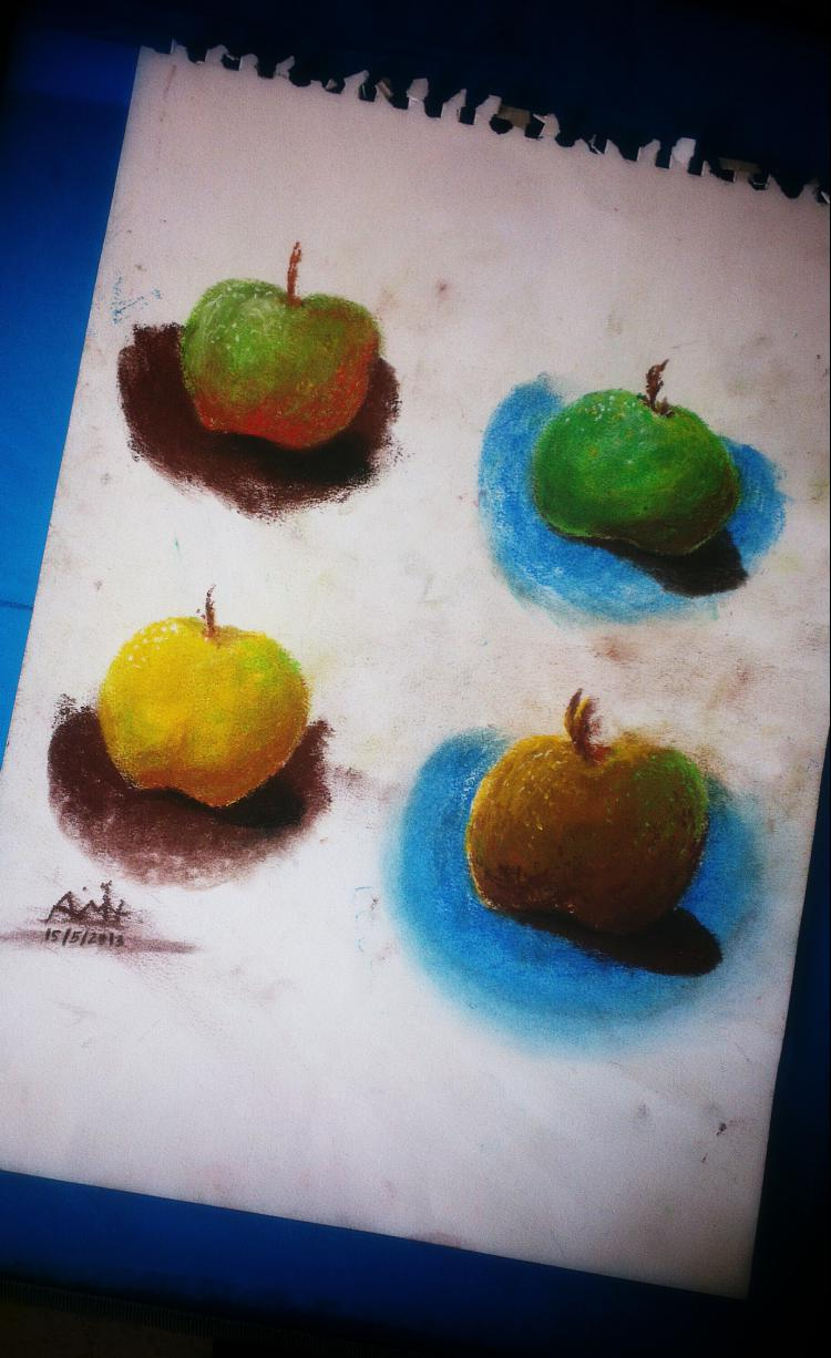 pastel_apples_painting