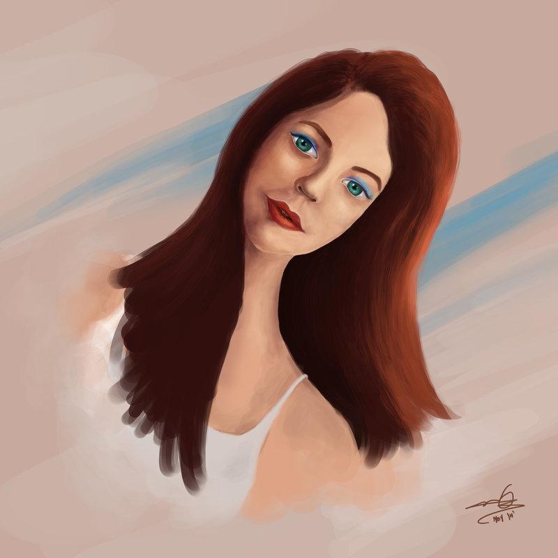 female_portrait_digital_painting