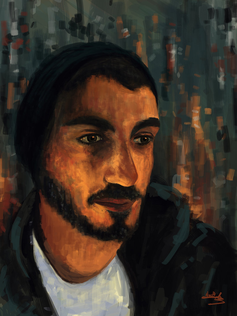 Self Portrait - Digital Painting