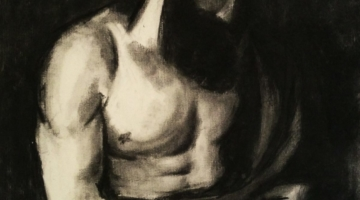 Body Pose Charcoal