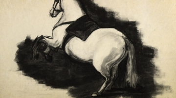 Charcoal Horse