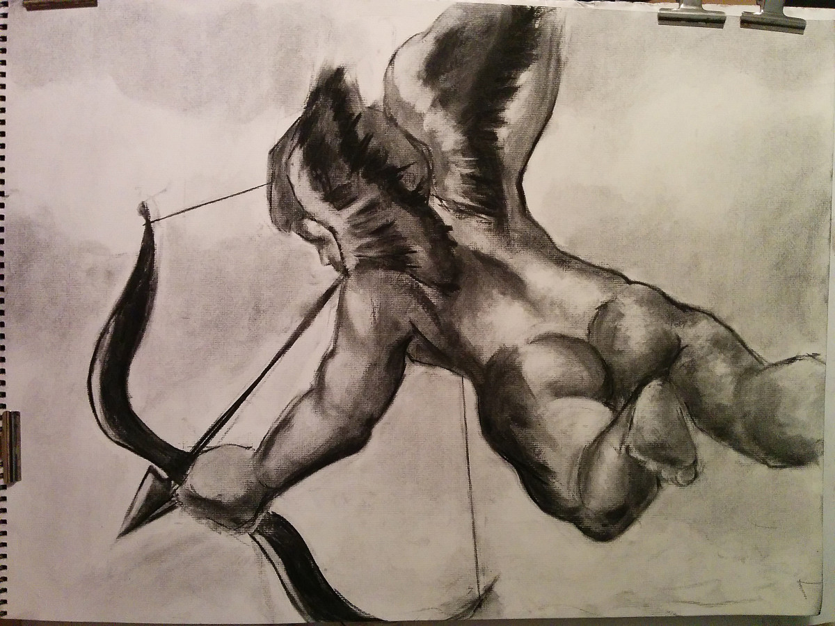 cupid_drawing_charcoal