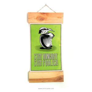 apple-vintage-וינטאג-תלייה-תפוח-סלון